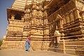 Devi Jagdambi temple belonging to Western Group of Temples at Khajuraho in Madhya Pradesh.jpg