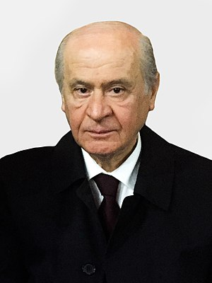 Turkish local elections, 2009 - Image: Devlet Bahçeli VOA 2015 (cropped)