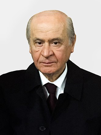 Turkish local elections, 2014 - Image: Devlet Bahçeli VOA 2015 (cropped)