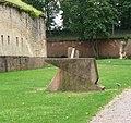 Die Fronte Beckers ist der letzte, komplett erhaltene, Teil der Festung Germersheim. - panoramio.jpg