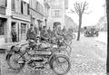 Die Motorradfahrer des Armeestabes - CH-BAR - 3237853.tif