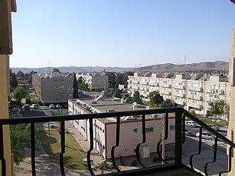 Dimona - View of Dimona
