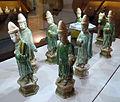 Dinastia ming, corteo funerario in ceramica sancai, 1368-1644 ca. 04.JPG