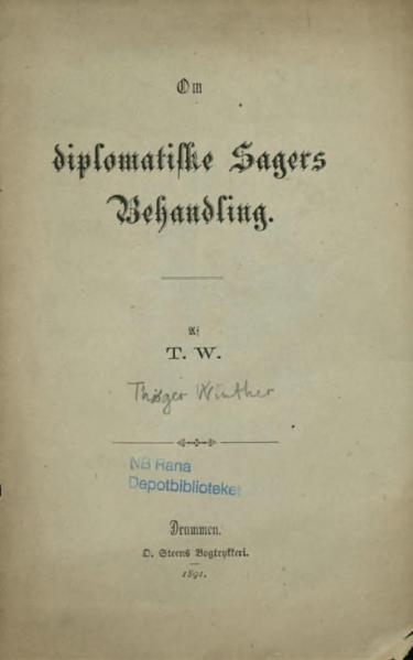 File:Diplomatiske Sagers Behandling.djvu