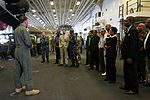 Diplomats, military leaders, distinguished guests from Trinidad tour USS America 140725-M-PC317-274.jpg