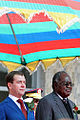 Dmitry Medvedev in Namibia 25 June 2009-10.jpg