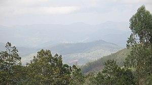 Nilgiri Biosphere Reserve - Image: Doddabetta view