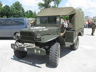 Dodge WC series American WWII light military trucks
