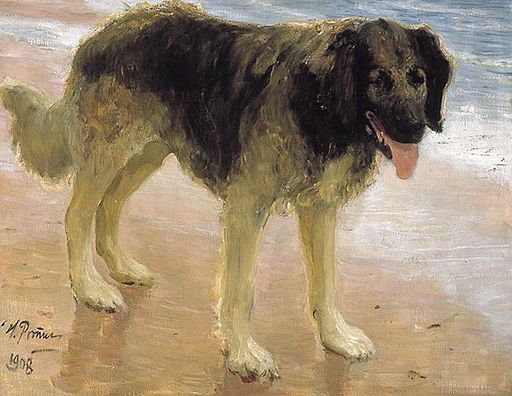 Dog by Repin