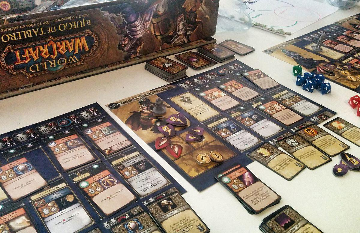 World of warcraft el juego de tablero wikipedia la for Cazafantasmas juego de mesa