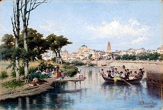 Domingo en Córdoba a orillas del Guadalquivir