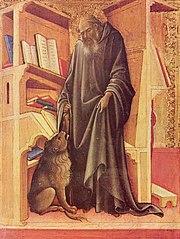 Saint Jérôme à son étude