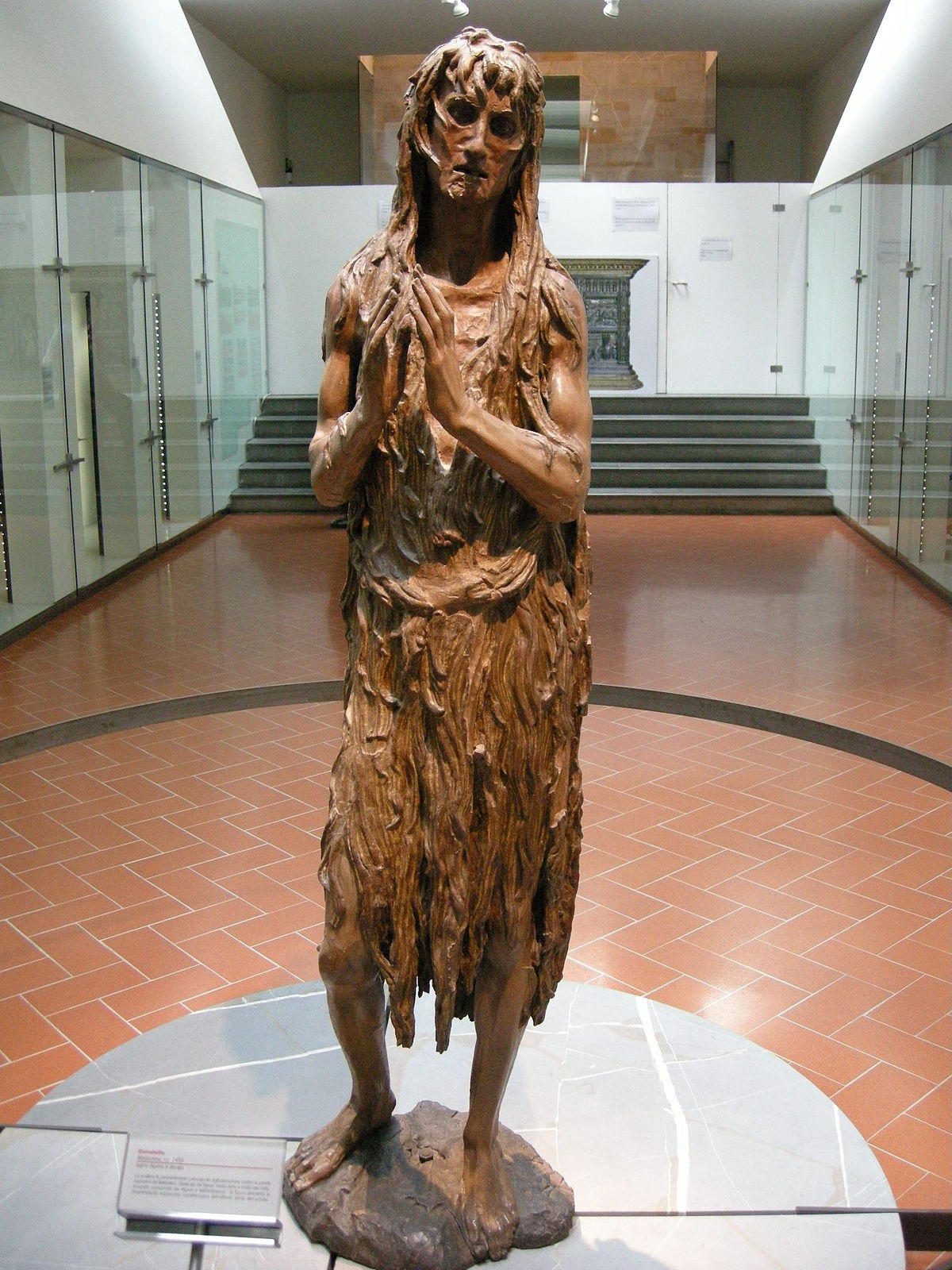 Penitent Magdalene Donatello Wikipedia - Artist spends year woods creating beautiful sculptures