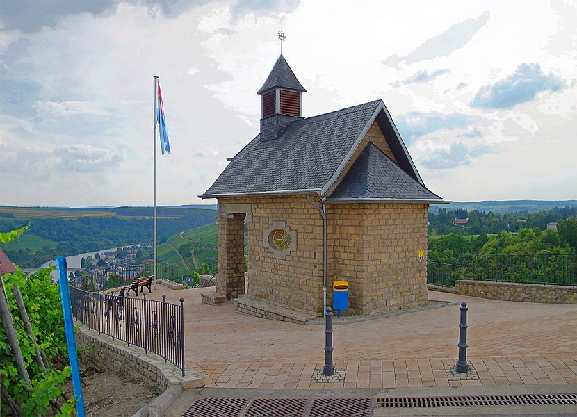St. Donatus chapel on the Koeppchen near Wormeldange, Luxembourg