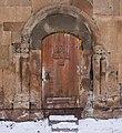 Door of little church of Marmashen Monastery 15-02-2019.jpg