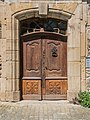 Door of the building in Brousse-le-Chateau.jpg
