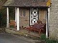 Door to lodge house near Priors Halton - geograph.org.uk - 452994.jpg