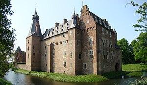 Doorwerth Castle - Image: Doorwerth Panorama 7