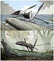Dorygnathus banthensis & Dimorphodon macronyx.jpg