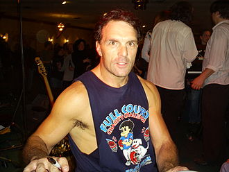 Doug Flutie - Flutie during a Flutie Brothers Band concert in 2009.