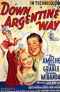 <i>Down Argentine Way</i> 1940 film by Irving Cummings