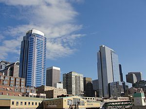 Downtown Seattle skyline from Victor Steinbrueck Park (4073357392).jpg