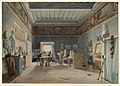 Drawing, A Studio in the Villa Medici, Rome, 1835 (CH 18708117).jpg