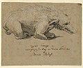Drawing, Fountain Design with Boar, ca. 1670 (CH 18172691).jpg
