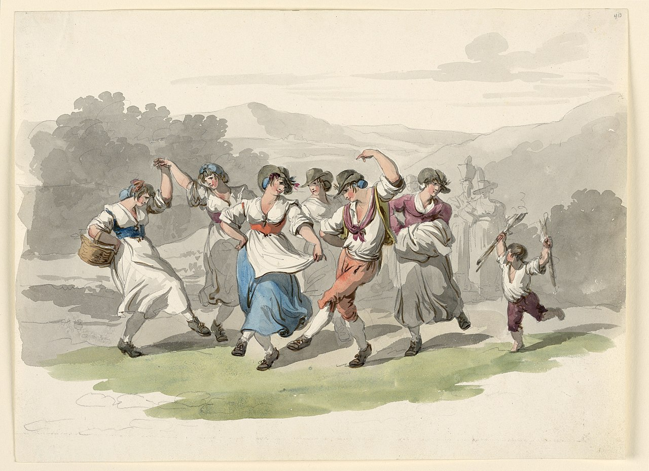 File:Drawing, Return From The Vintage, 1807-08 (CH ...