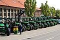Dreher Landmaschinen, Dagersheim, John Deere (ehem. Lanz Bulldog) - panoramio.jpg