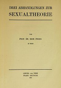 Three Essays on the Theory of Sexuality cover
