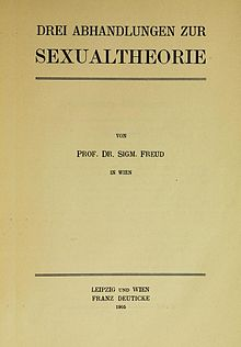 three essays on the theory of sexuality  drei abhandlungen freud tp jpg author sigmund freud