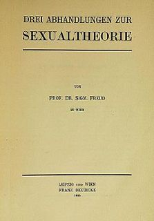 <i>Three Essays on the Theory of Sexuality</i> 1905 work by Sigmund Freud