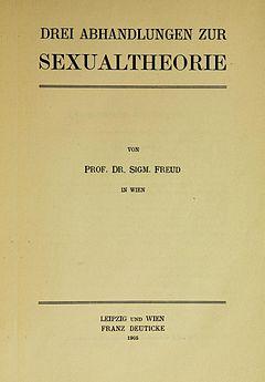 Трех очерках по теории сексуальности