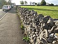 Dry-stone wall, near Monsal Head - geograph.org.uk - 1590105.jpg