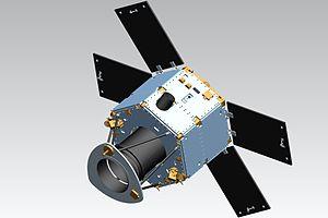 DubaiSat-2 - An artist rendering of DubaiSat-2
