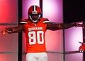 Dwayne Bowe Cleveland Browns New Uniform Unveiling (16946962137).jpg