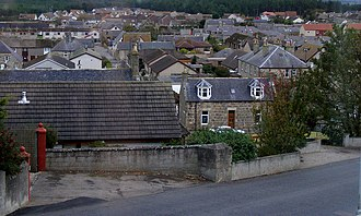 Moray (UK Parliament constituency) - Houses in Lossiemouth.