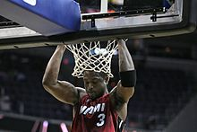 buy online ae506 461ea Wade s pre-game ritual consists of doing pull-ups at the rim.