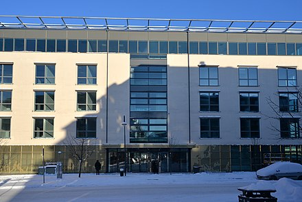 ECDC headquarters, Solna, Sweden ECDC-2018.jpg