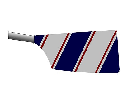 East India Club Rowing Blade Design