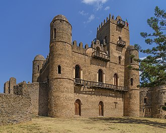 Ethiopia - The castle of Fasilides