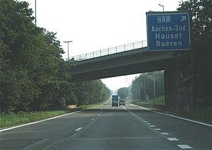 A3 motorway (Belgium) - Image: E 40 Hauset
