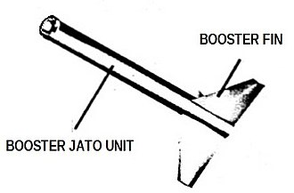 Nike (rocket stage) - Early Booster Missile Nike I (three fin model).