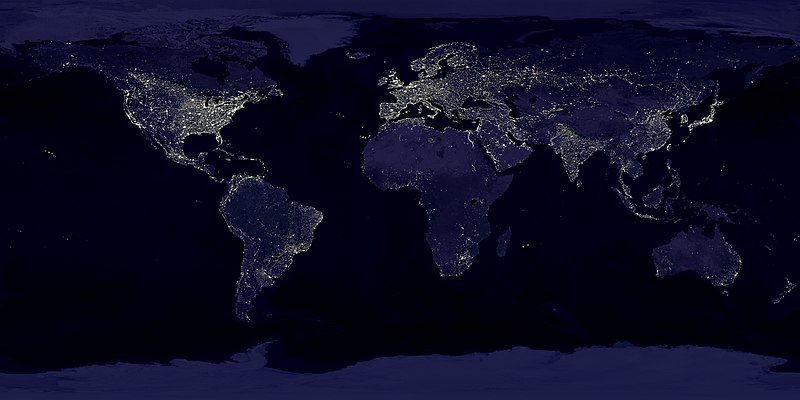 Earth's City Lights by DMSP, 1994-1995 (large).jpg