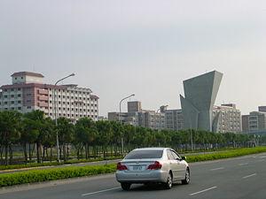Tainan Science Park - East Entrance