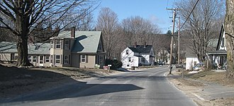 Princeton, Massachusetts - East Princeton Village Historic District along Route 140