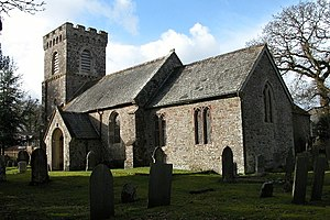 East Worlington - East Worlington church