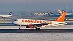 EasyJet Airline Airbus A319-111 G-EZAJ MUC 2015 02.jpg