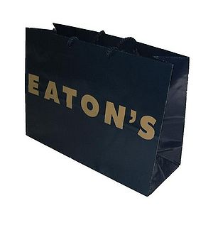 Shopping bag from the Eaton's department store...